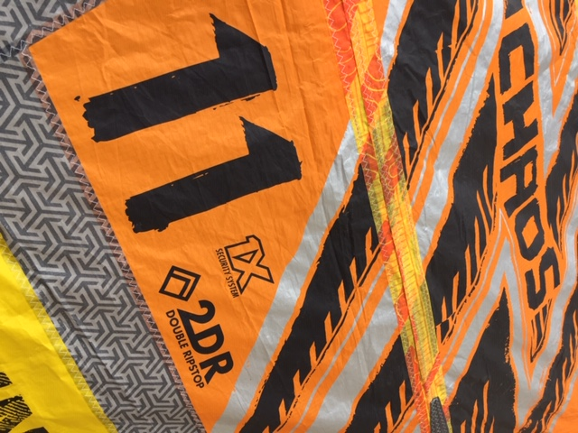 CHAOS 11M 2017 YELLOW ORANGE (USED)