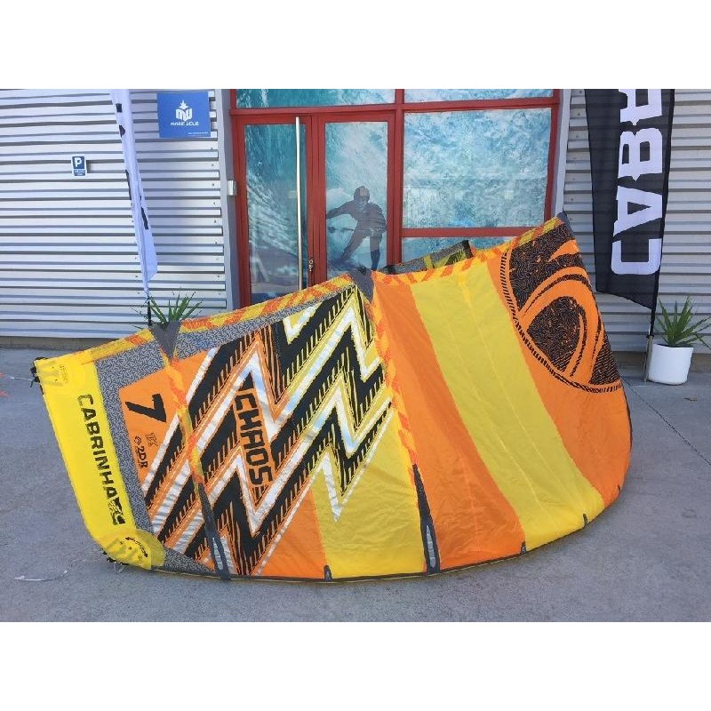 CHAOS 7M 2017 YELLOW ORANGE (USED)