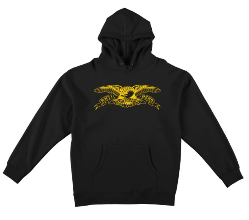 BASIC EAGLE PULLOVER HOODED